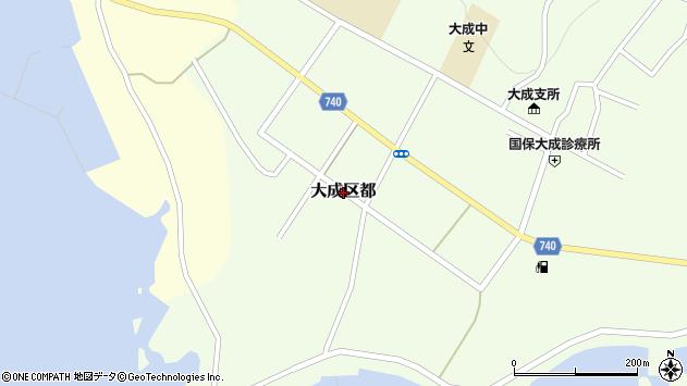 〒043-0504 北海道久遠郡せたな町大成区都の地図
