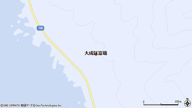 〒043-0502 北海道久遠郡せたな町大成区富磯の地図