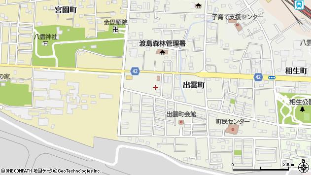 〒049-3115 北海道二海郡八雲町出雲町の地図