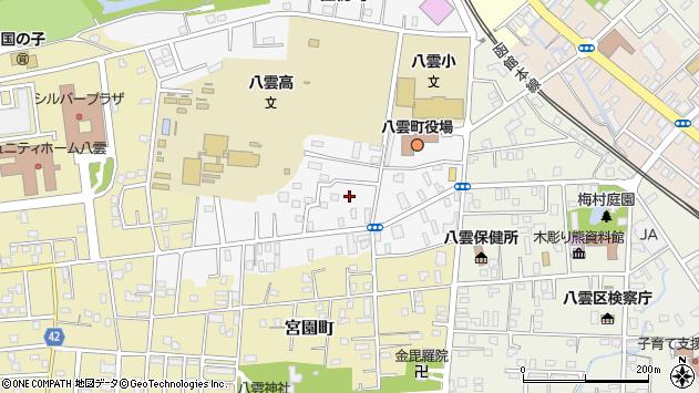 〒049-3111 北海道二海郡八雲町住初町の地図