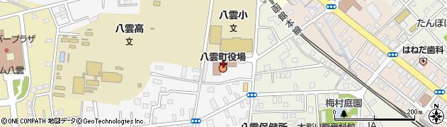 北海道二海郡八雲町周辺の地図