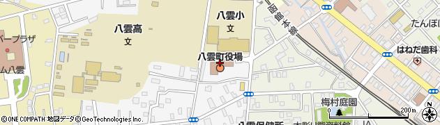 北海道八雲町(二海郡)周辺の地図