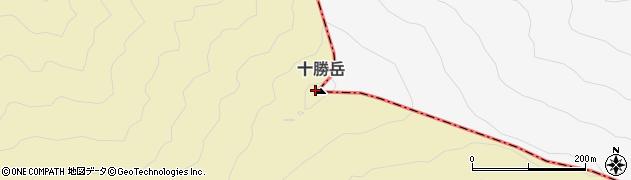 十勝岳周辺の地図
