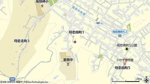 〒051-0003 北海道室蘭市母恋南町の地図