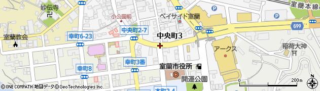 中央町3‐6周辺の地図