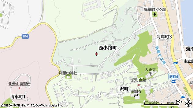 〒051-0028 北海道室蘭市西小路町の地図