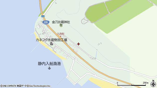 〒056-0013 北海道日高郡新ひだか町静内入船町の地図