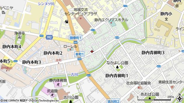 〒056-0018 北海道日高郡新ひだか町静内吉野町の地図