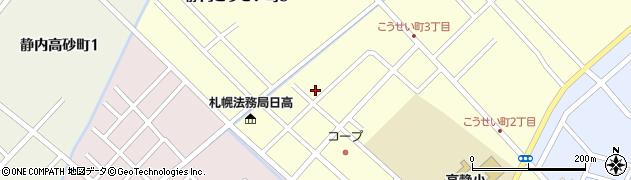 北教組日高支部周辺の地図