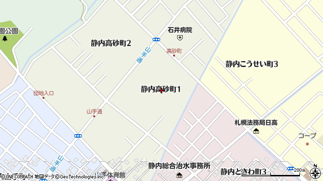 〒056-0022 北海道日高郡新ひだか町静内高砂町の地図