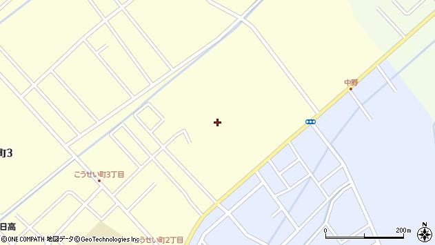 〒056-0006 北海道日高郡新ひだか町静内中野町の地図