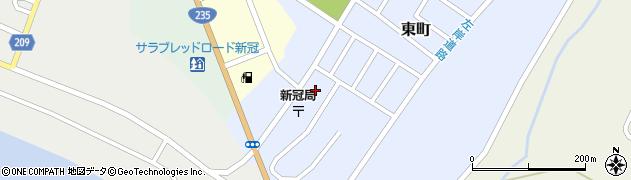新冠町役場 新冠町高齢者共同生活施設あいあい荘周辺の地図