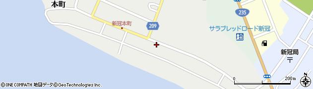 チヨ美容室周辺の地図