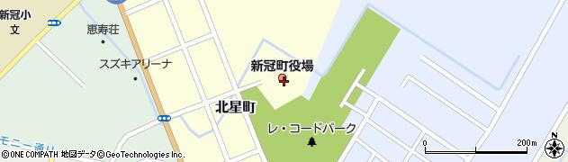 北海道新冠郡新冠町周辺の地図