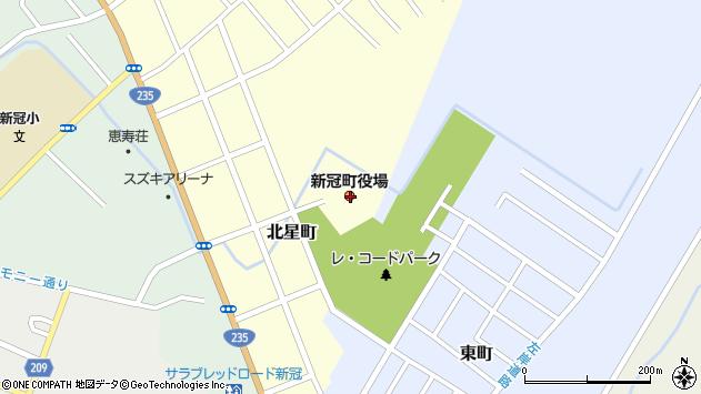 〒059-2400 北海道新冠郡新冠町(以下に掲載がない場合)の地図