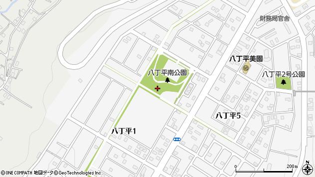 〒050-0061 北海道室蘭市八丁平の地図