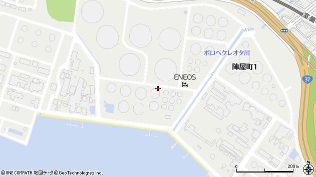 〒050-0067 北海道室蘭市陣屋町の地図