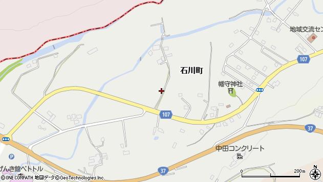〒050-0051 北海道室蘭市石川町の地図