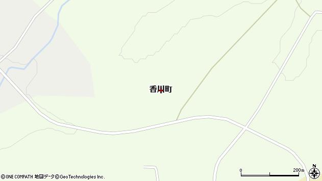 〒050-0052 北海道室蘭市香川町の地図