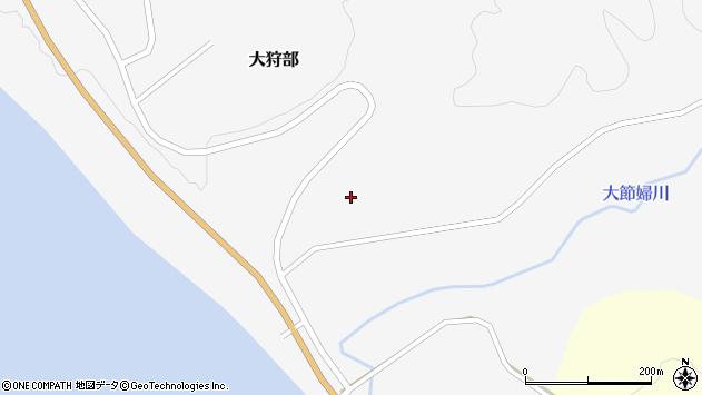 〒059-2253 北海道新冠郡新冠町大狩部436番地の地図