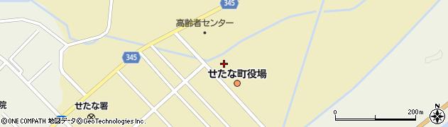 北海道せたな町(久遠郡)周辺の地図