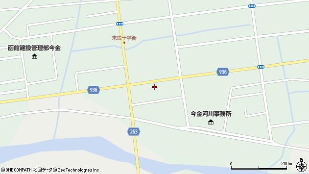 〒049-4316 北海道瀬棚郡今金町南町の地図