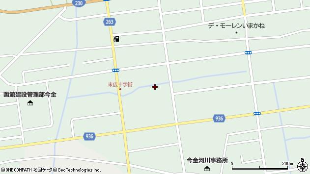 〒049-4315 北海道瀬棚郡今金町末広町の地図