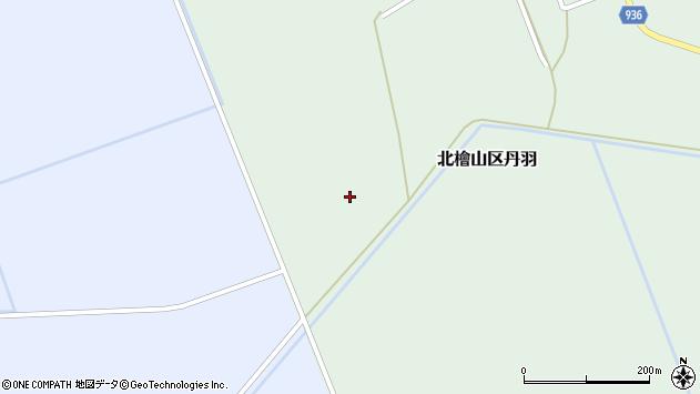 〒049-4433 北海道久遠郡せたな町北檜山区丹羽の地図