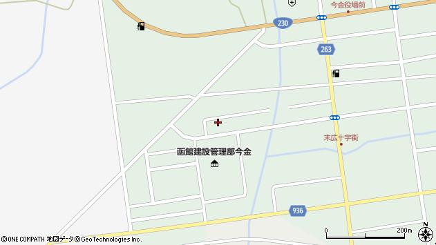 〒049-4318 北海道瀬棚郡今金町大和町の地図