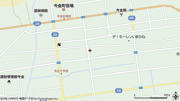 〒049-4312 北海道瀬棚郡今金町旭町の地図