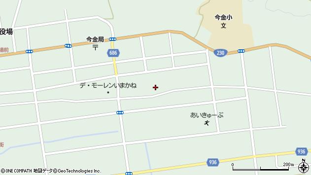 〒049-4301 北海道瀬棚郡今金町東町の地図