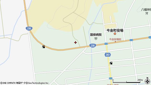 〒049-4311 北海道瀬棚郡今金町栄町の地図