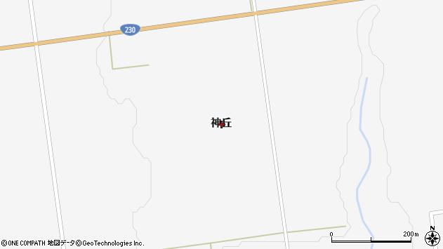 〒049-4327 北海道瀬棚郡今金町神丘の地図