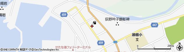 北海道久遠郡せたな町瀬棚区本町2区周辺の地図