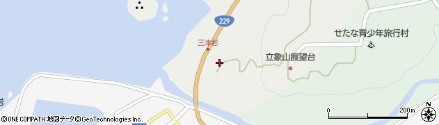 北海道久遠郡せたな町瀬棚区三本杉周辺の地図