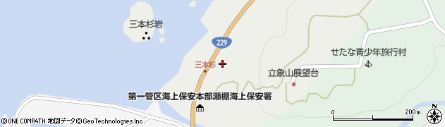 北海道久遠郡せたな町瀬棚区三本杉71周辺の地図
