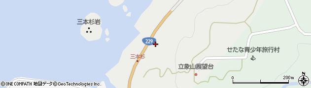 北海道久遠郡せたな町瀬棚区三本杉78周辺の地図