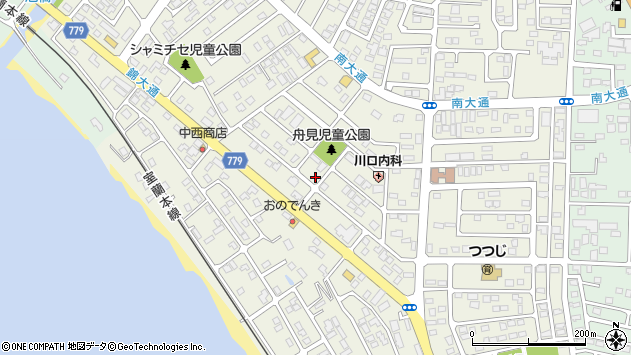 〒052-0014 北海道伊達市舟岡町の地図