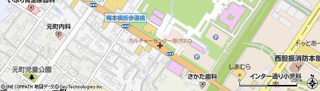 カルチャーセンターあけぼの周辺の地図