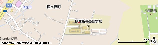 北海道伊達高等養護学校周辺の地図