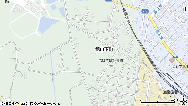 〒052-0034 北海道伊達市館山下町の地図