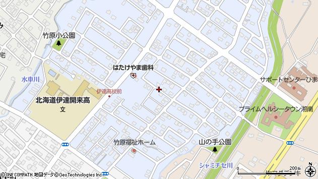 〒052-0011 北海道伊達市竹原町の地図