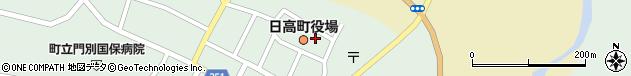 北海道沙流郡日高町周辺の地図