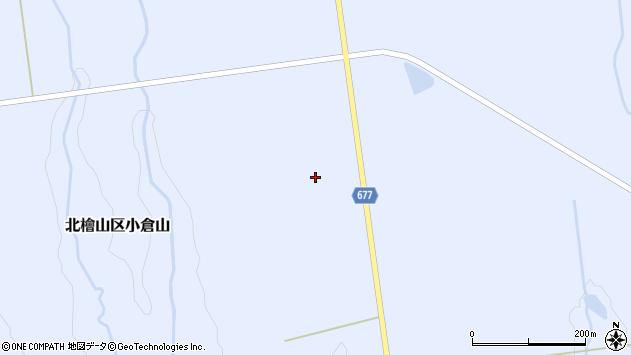 〒049-4431 北海道久遠郡せたな町北檜山区小倉山の地図