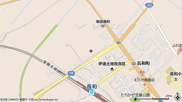 〒052-0035 北海道伊達市長和町の地図