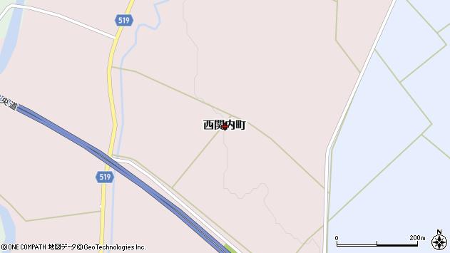 〒052-0007 北海道伊達市西関内町の地図