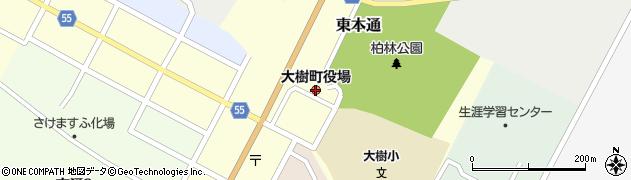 北海道大樹町(広尾郡)周辺の地図