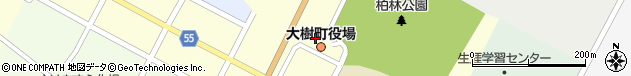 北海道広尾郡大樹町周辺の地図