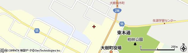 大樹神社周辺の地図