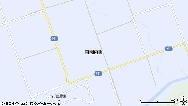 〒052-0006 北海道伊達市東関内町の地図